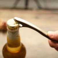 senseyo 啤酒开瓶器 酒瓶起子创意锌合金启瓶器酒启子加厚开瓶盖 啤酒起子 开酒器