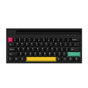 AJAZZ 黑爵 K620T 62键 双模无线机械键盘 黑色 国产兰轴 RGB