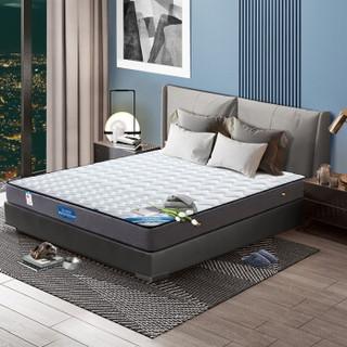 宜眠坊(ESF)床垫 乳胶床垫 席梦思弹簧床垫 乳胶+直筒簧 软硬两用 J10 1.8米*2米*0.22米