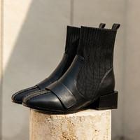 RUXI 如熙 18171580245 女士英伦风短靴
