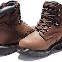 Timberland PRO Pit Boss 男士 6英寸軟趾靴