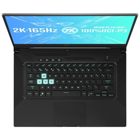 ASUS 华硕 天选 air 15.6英寸笔记本电脑(i7-11370H、16GB、512GB、RTX 3060、2K、165Hz)