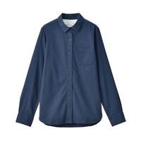 MUJI 无印良品 W9AC506 女士衬衫