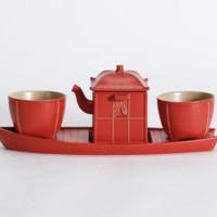 故宮 清明上河茗香茶具套裝 茶器禮盒 故宮博物院官方旗艦店