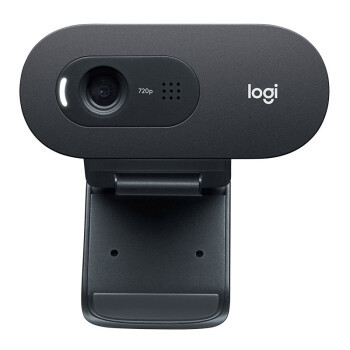 罗技(Logitech)C505e 高清720P网络摄像头 3米拾音,3年质保