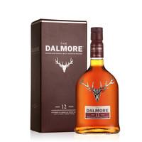 cdf会员购 大摩(The Dalmore) 达尔摩 苏格兰单一麦芽帝摩威士忌 12年 1000ml *2件