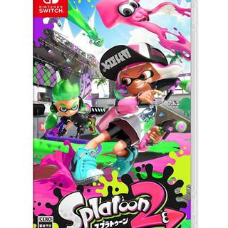 Nintendo 任天堂 Switch游戏 NS卡带 Splatoon2 喷射战士2 乌贼2 现货英文