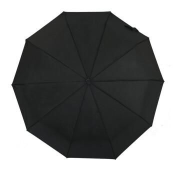 添晴 商务晴雨两用伞 105CM 黑色 *5件