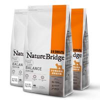 PLUS会员:Nature Bridge 比瑞吉 自然均衡系列 泰迪贵宾成犬狗粮 2.2kg*3袋