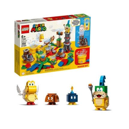 积木之家、88VIP、新品发售 : LEGO 乐高 Super Mario 超级马力欧系列 71380 定制专属冒险套装