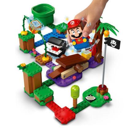 女神超惠买:LEGO 乐高 Super Mario 超级马力欧系列 71381 汪汪丛林遭遇 +凑单品