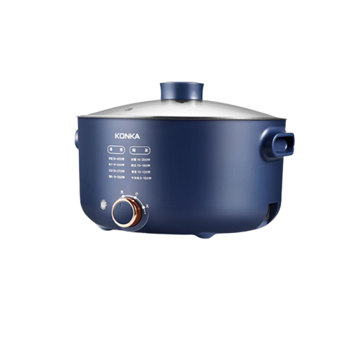 KONKA  KZG-HP502 多功能锅电火锅 5L 蓝色