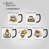 大英博物馆官方X HELLO KITTY联名款Mini陶瓷杯马克杯送女友礼物