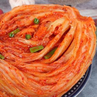 金刚山辣白菜韩国泡菜 组合装 韩式泡菜 1.5kg(500g*3)