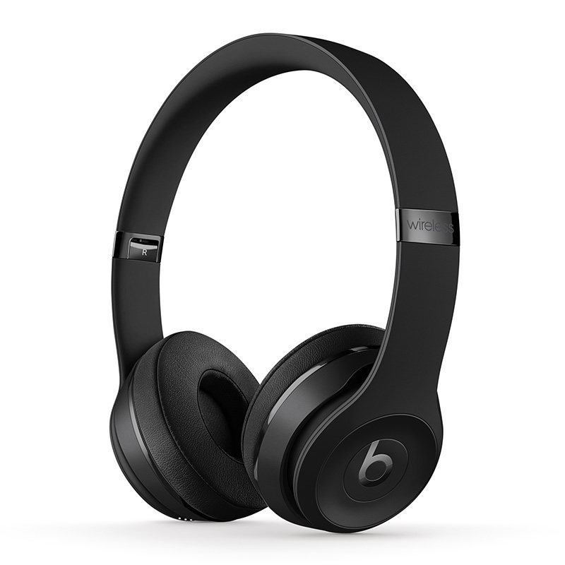 Beats Solo3 Wireless 耳罩式头戴式主动降噪 蓝牙耳机 黑色