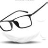 裴漾 超轻TR近视眼镜框+1.60超薄防辐射非球面镜片