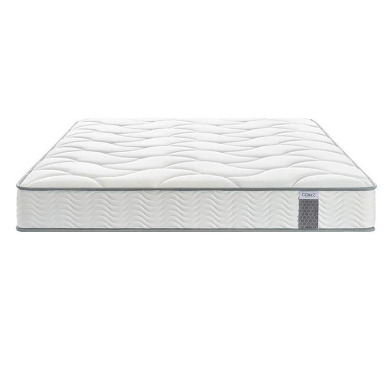 瞌睡猫弹簧床垫 透气偏软舒适床垫子 顾家高弹双人海绵云感席梦思1.2*2米
