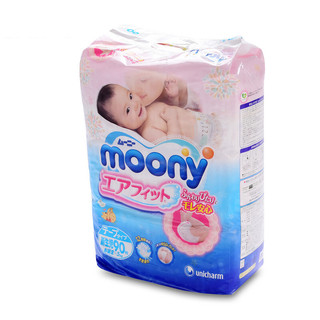 moony 畅透系列 纸尿裤 S90片
