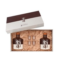 LANGJIU 郎酒 青花郎 酱香型白酒53度 500mL*2瓶+品味舍得 600mL*2瓶