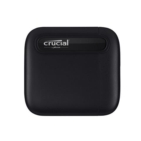 crucial英睿达移动固态硬盘X6手机电脑通用外接硬盘2T存储PSSD
