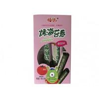恬达烤海苔卷40克即食紫菜儿童零食辅食香脆可口4盒 混搭4盒