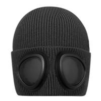 SKECHERS 斯凯奇 中性针织帽 L420U132-002K 深黑色