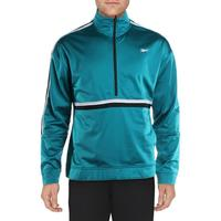Reebok Mens Workout Ready Fitness Workout 1/4 Zip Jacket