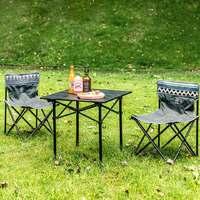 GOCAMP OBS1005 折叠野餐桌椅三件套