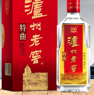 LUZHOULAOJIAO 泸州老窖 特曲 老字号 52%vol 浓香型白酒 165ml 单瓶装