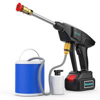 Boodain 无线锂电洗车机 高压洗车水枪