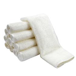 TUKY 多吉 三代白色款竹纤维洗碗巾 16*18cm 5条装