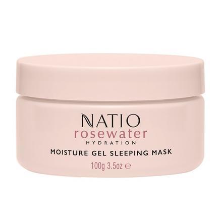 Natio 娜迪奥 玫瑰水保湿凝胶睡眠面膜 100g