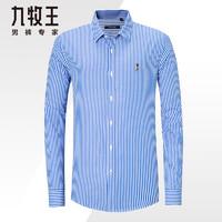 JOEONE 九牧王 JC394451T-3 男士条纹衬衫