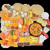 LI JIAN 立健 中式早餐 过家家玩具套装 51件套