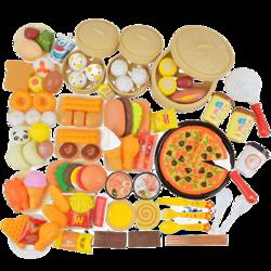 LI JIAN立健  中式早餐 过家家玩具套装 51件套