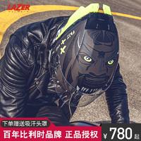 車迷辰 LAZER TANGO 3/4頭盔大尾翼踏板車摩托車頭盔男女賽車盔