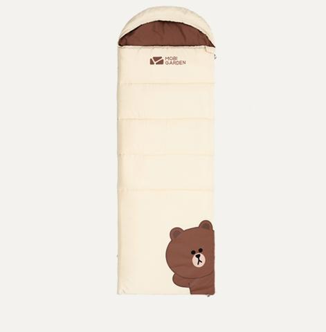MOBI GARDEN 牧高笛 x Line Friends 布朗熊联名 睡袋