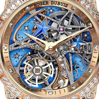ROGER DUBUIS 罗杰杜彼 Excalibur王者系列 36毫米手动上链腕表 RDDBEX0761