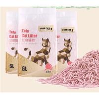 TOM CAT 派可为 豆腐猫砂 水蜜桃味 2.5kg *3件