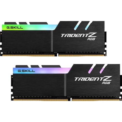 芝奇(G.SKILL)32GB(16G×2)套装 DDR4 4000频率 台式机内存条-幻光戟RGB灯条(C18)