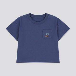UNIQLO 优衣库 婴幼儿圆领T恤