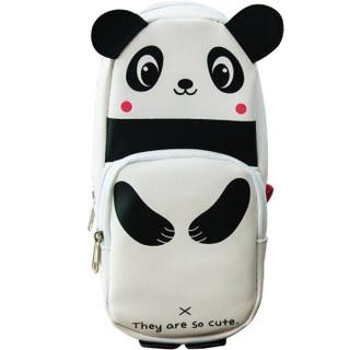 GuangBo 广博 HBD02358 萌宠熊猫 文具袋 *3件