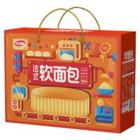 达利园 香奶味法式软面包 600g