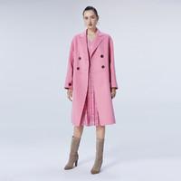 ochirly 欧时力 1ZY4341090 女士羊毛双面呢大衣