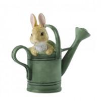 Beatrix Potter 碧雅翠絲·波特待在花灑里的彼得兔迷你雕像