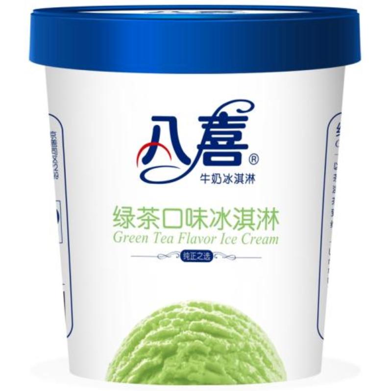 BAXY 八喜 牛奶冰淇淋 绿茶味 550g