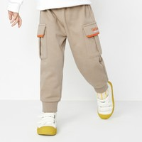 balabala 巴拉巴拉 儿童撞色工装裤