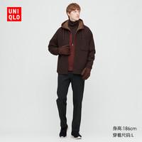 UNIQLO 优衣库 429172 男装仿羊羔绒茄克外套