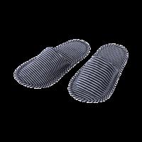 MINISO 名创优品  70659229494 条纹折叠拖鞋