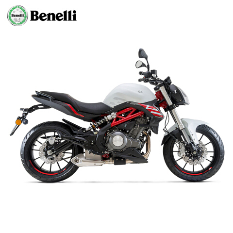 Benelli贝纳利2020款轻量化蓝宝龙302S四冲程双缸ABS款水冷国四摩托车 白色 全款29800元